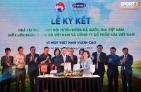 Vinamilk trở thành nhà tài trợ chính cho đội tuyển Bóng đá quốc gia Việt Nam