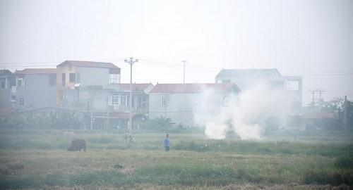 Hà Nội tập trung xử lý các vấn đề ô nhiễm không khí