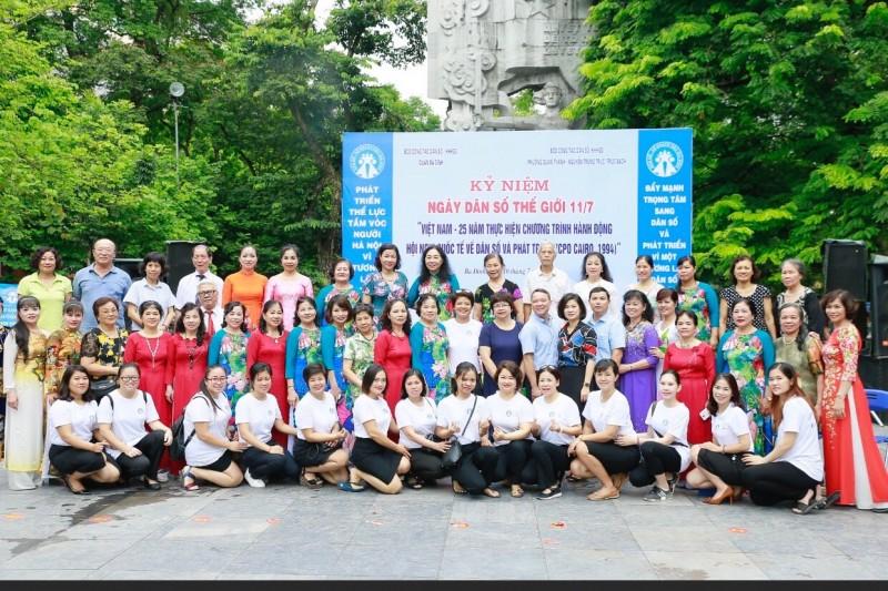 Quận Ba Đình mít tinh hưởng ứng ngày Dân số Thế giới