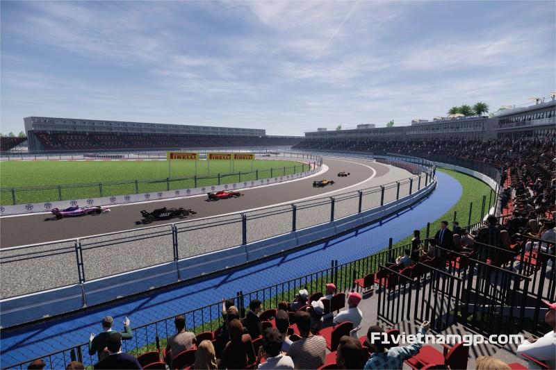 Chính thức mở bán toàn bộ các hạng vé chặng đua F1 Việt Nam