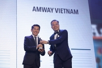 Amway Việt Nam tiếp tục được người lao động bình chọn là công ty hàng đầu để làm việc
