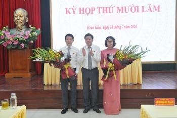 Ông Phạm Tuấn Long giữ chức Chủ tịch Uỷ ban nhân dân quận Hoàn Kiếm