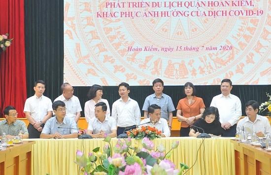 Quận Hoàn Kiếm đồng hành cùng doanh nghiệp, khôi phục và phát triển du lịch