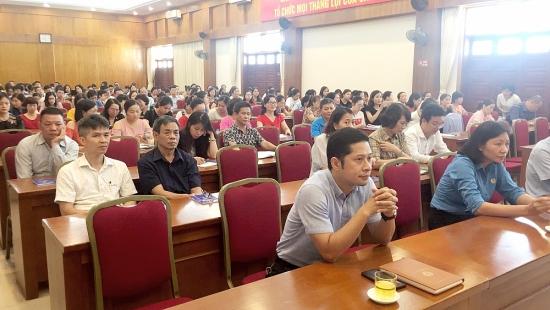 LĐLĐ quận Hoàn Kiếm tập huấn triển khai Điều lệ và Hướng dẫn thi hành Điều lệ Công đoàn Việt Nam khoá XII