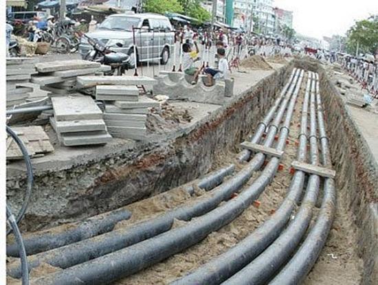 Không để tình trạng đào hè đường sau khi mới hạ ngầm, chỉnh trang đô thị