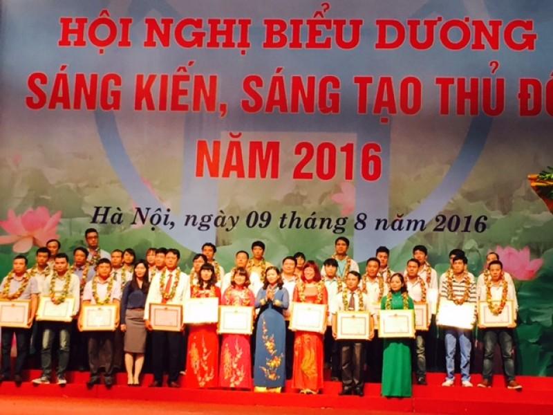 105 ca nhan duoc nhan bang sang kien sang tao thu do nam 2016