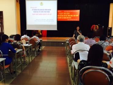 450 cán bộ CĐ tập huấn công tác tổ chức hội nghị CBCC, NLĐ