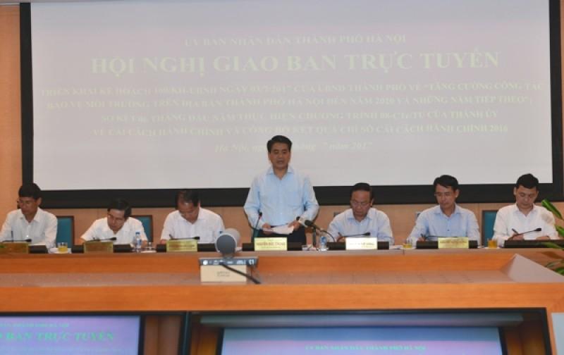 Chủ tịch UBND TP Hà Nội: Quyết liệt xử lý dịch sốt xuất huyết