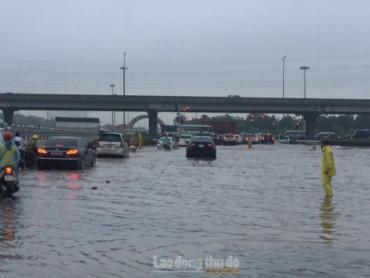 Hà Nội chủ động ứng phó với mưa lũ