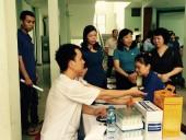 LĐLĐ quận Hoàn Kiếm, tư vấn và khám sức khoẻ miễn phí cho CNLĐ