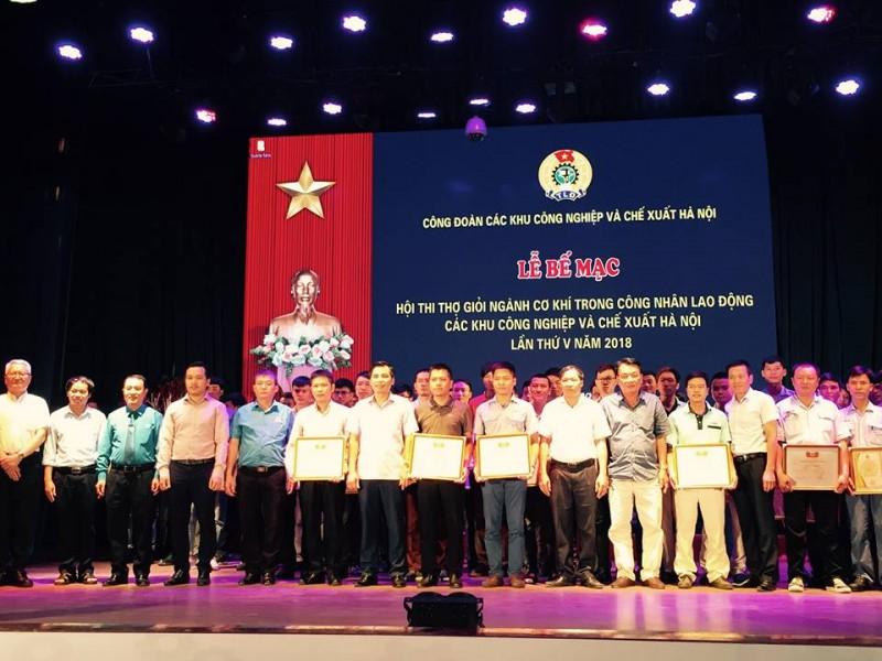 Công ty TNHH Denso Việt Nam đoạt giải nhất toàn đoàn