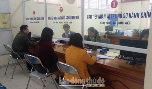 Hà Nội hướng dẫn người dân chỉ thực hiện 1 lần đối với hồ sơ, thủ tục hành chính cần bổ sung, hoàn thiện