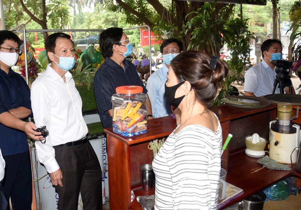 Hà Nội yêu cầu cấp trưởng các đơn vị trực tiếp kiểm tra thực tế công tác phòng chống dịch Covid -19