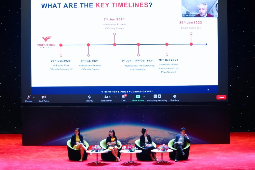 Giải thưởng khoa học - công nghệ toàn cầu VinFuture bắt đầu vòng sơ khảo