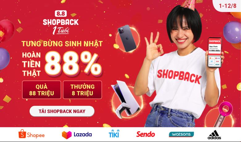 ShopBack Việt Nam kỷ niệm tròn một năm hoạt động