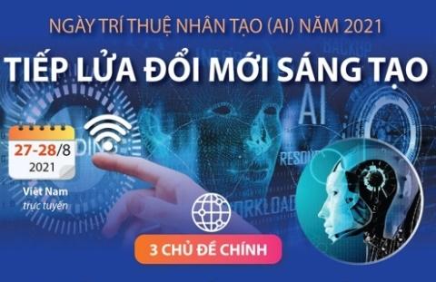 """""""Ngày Trí tuệ nhân tạo 2021"""" – Nơi hội tụ những """"siêu sao AI"""" hàng đầu thế giới"""