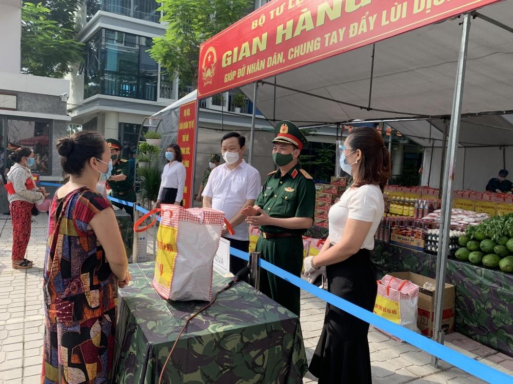 Bộ Tư lệnh Thủ đô Hà Nội: Cùng người dân vượt qua khó khăn