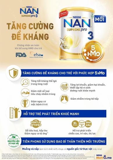 Nestlé Việt Nam ra mắt sản phẩm NAN SUPREME PRO 3, giúp trẻ tăng cường sức đề kháng