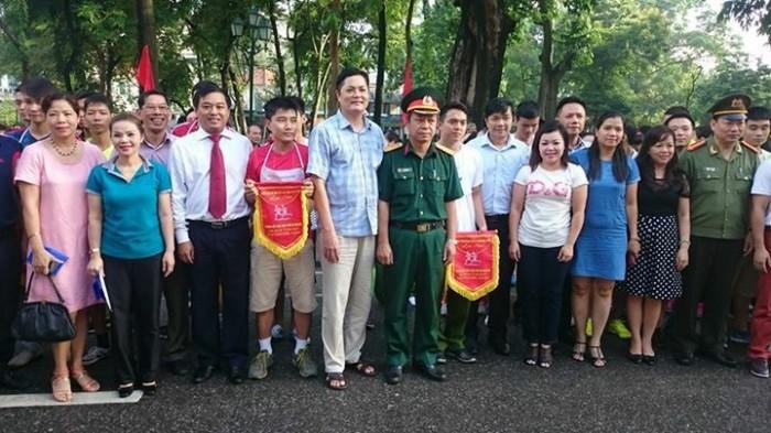 Quận Hoàn Kiếm: Hơn 200 VĐV tham gia chung kết giải chạy Báo Hà Nội mới