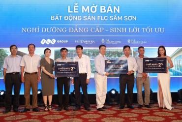 """FLC Sầm Sơn tạo """"sóng lớn"""" trong lễ mở bán tại Ninh Bình"""