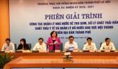 HĐND TP Hà Nội tổ chức phiên giải trình về thu gom, xử lý chất thải, quản lý hồ nước