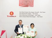 Vingroup - Nhà phát triển bất động sản tốt nhất Việt Nam năm 2017