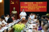 Hà Nội và Phú Thọ đẩy mạnh hợp tác toàn diện