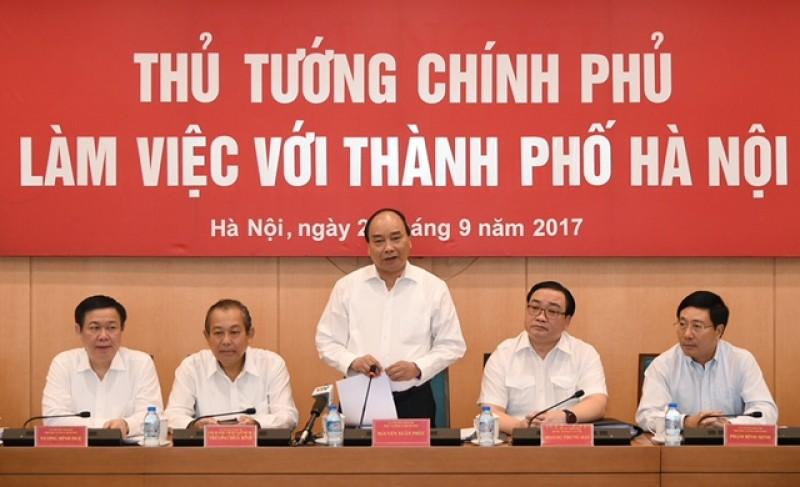 """Phát triển đối với Hà Nội là """"xanh, sạch, bảo tồn và kỷ cương"""""""