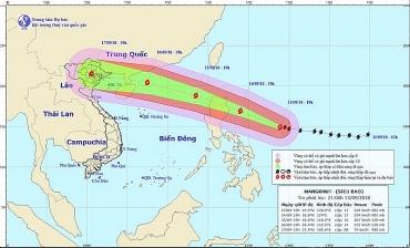 Chủ tịch UBND TP yêu cầu trực 24/24 giờ để ứng phó kịp thời diễn biến siêu bão Mangkhut