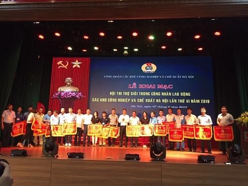 Khai mạc hội thi thợ giỏi ngành cơ khi trong công nhân lao động lần thứ VI năm 2019