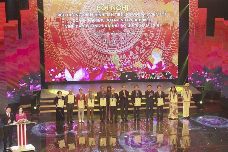 Ngày 5/10 Hà Nội vinh danh Công dân Thủ đô ưu tú năm 2019
