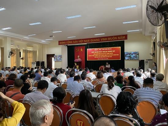 Lãnh đạo quận Đống Đa đối thoại với Mặt trận Tổ quốc, các tổ chức chính trị - xã hội và nhân dân