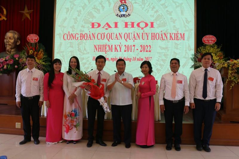 Đại hội Công đoàn cơ quan Quận ủy Hoàn Kiếm nhiệm kỳ 2017- 2022