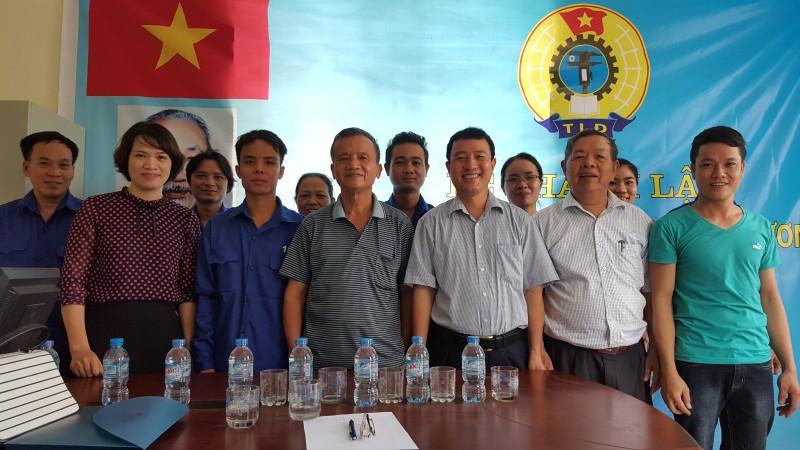 Thành lập công đoàn công ty TNHH Nam Xương