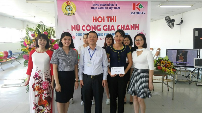 """Hội thi """"Nữ công gia chánh"""" Công ty TNHH KATOLEC Việt Nam"""