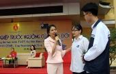 Giao lưu 'Hướng nghiệp trước ngưỡng cửa vào đời' với diễn giả Uyên Phương