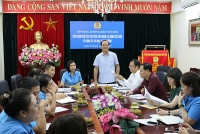 Liên đoàn lao động quận Hoàn Kiếm đóng góp ý kiến về công tác thi đua, khen thưởng