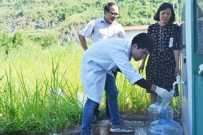 16 mẫu xét nghiệm nước sạch sông Đà đều đạt chuẩn về styren