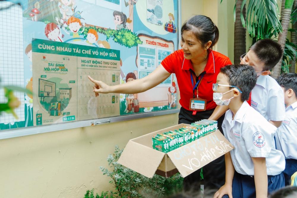 Nestlé MILO khuyến khích 200.000 học sinh tham gia thu gom, tái chế vỏ hộp sữa thành vật dụng hữu ích
