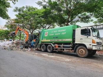 Đảm bảo an ninh trật tự trong vận chuyển, tiếp nhận rác thải tại Khu Liên hợp xử lý chất thải Nam Sơn