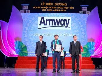 Amway Việt Nam vinh dự nhận giải thưởng tại diễn đàn doanh nghiệp ASEAN+3