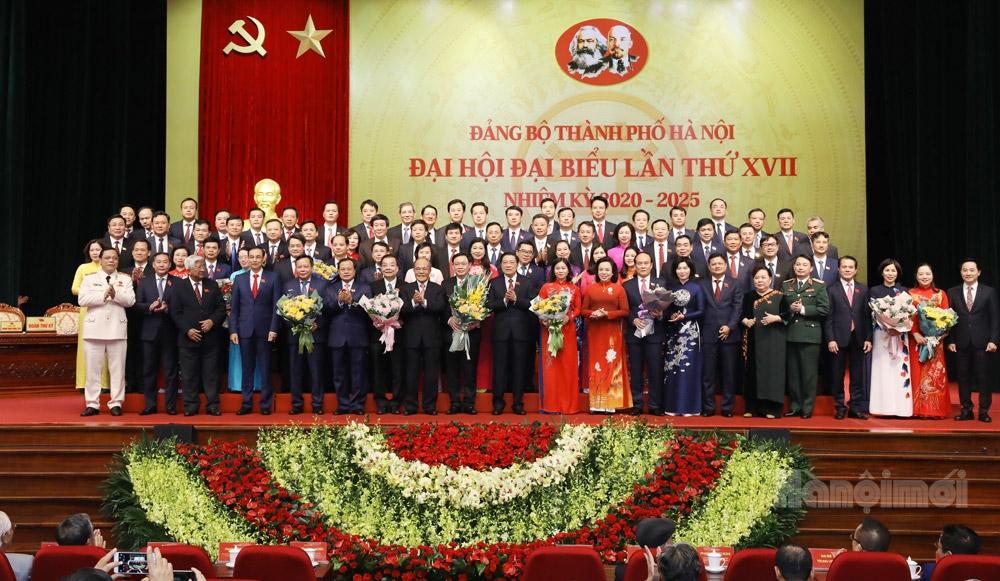 Đại hội đại biểu lần thứ XVII Đảng bộ thành phố Hà Nội thành công tốt đẹp