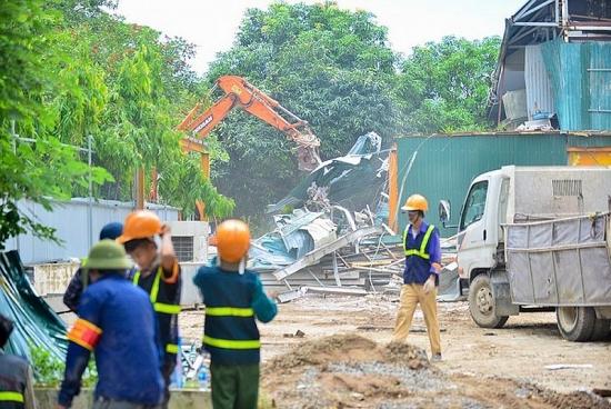 Xử lý dứt điểm các cơ sở sản xuất, kinh doanh, dịch vụ xây dựng trên đất vi phạm