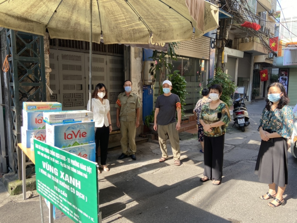 Quận Đống Đa: Kiểm tra công tác phòng, chống dịch Covid-19 tại phường Hàng Bột và Thổ Quan
