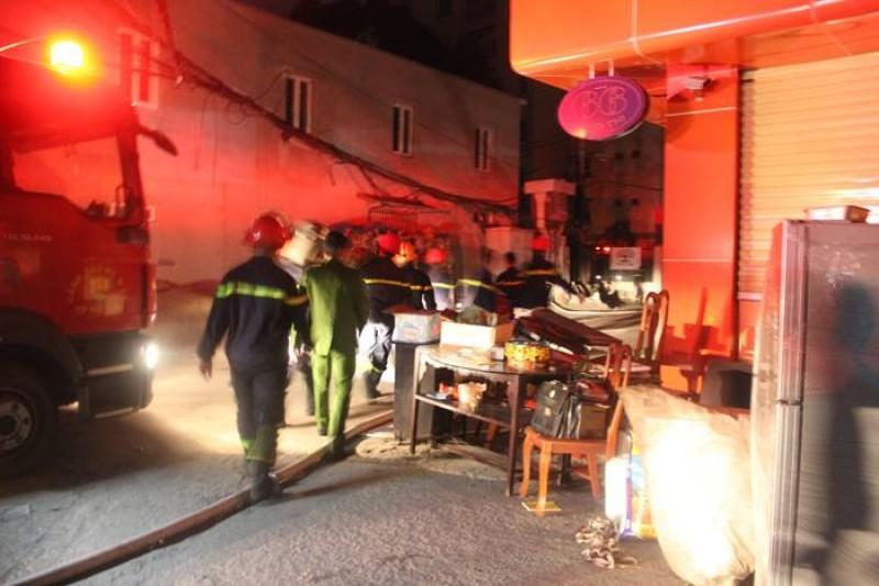 Thông tin chính thức vụ cháy nhà Tổ chùa Tĩnh Lâu, phường Bưởi
