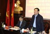 Phó Thủ tướng Vương Đình Huệ khảo sát chính sách tiền lương tại Viện Kiểm sát nhân dân tối cao