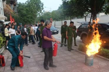 Quận Ba Đình: Nâng cao khả năng phòng cháy, chữa cháy