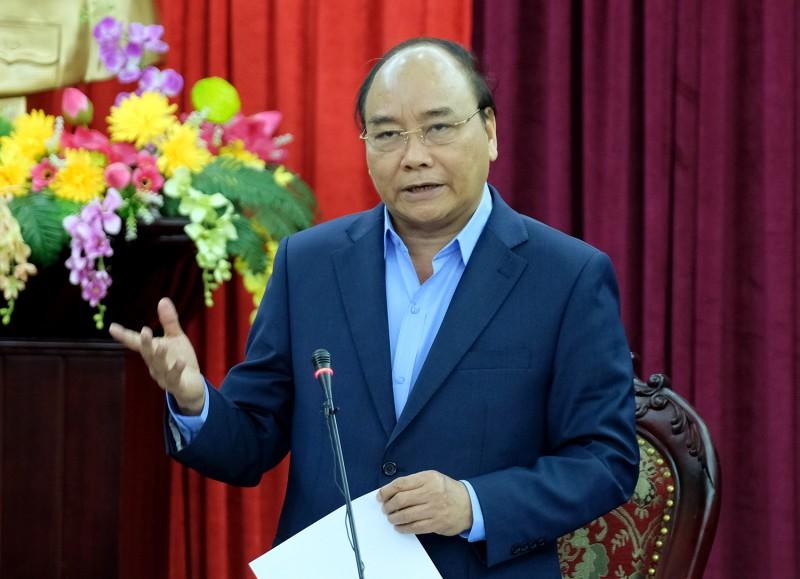 Thủ tướng Nguyễn Xuân Phúc làm việc với lãnh đạo chủ chốt tỉnh Bắc Kạn