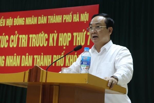 Đại biểu HĐND TP Hà Nội tiếp xúc cử tri quận Bắc Từ Liêm