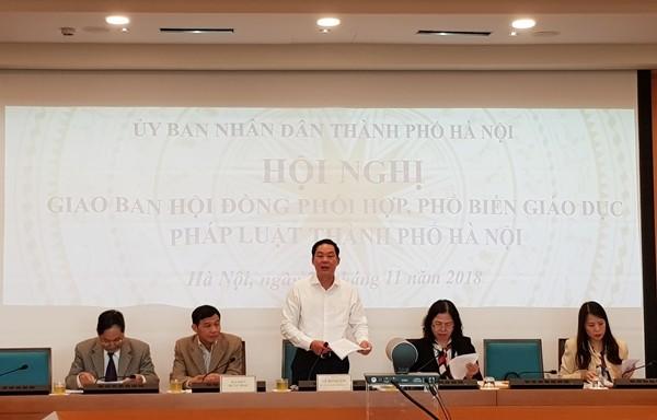 Hà Nội: Nhiều mô hình sáng tạo về phổ biến pháp luật được triển khai